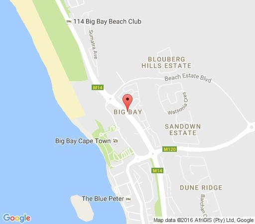 Map Azure - Beach Apartment in Bloubergstrand  Blaauwberg  Cape Town  Western Cape  South Africa