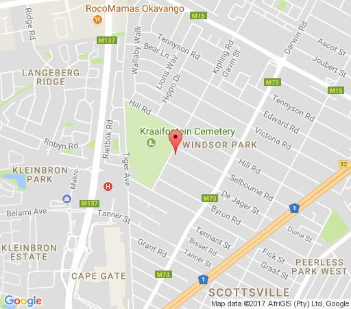 Map Villa Mariss Guesthouse in Kraaifontein  Northern Suburbs (CPT)  Cape Town  Western Cape  South Africa