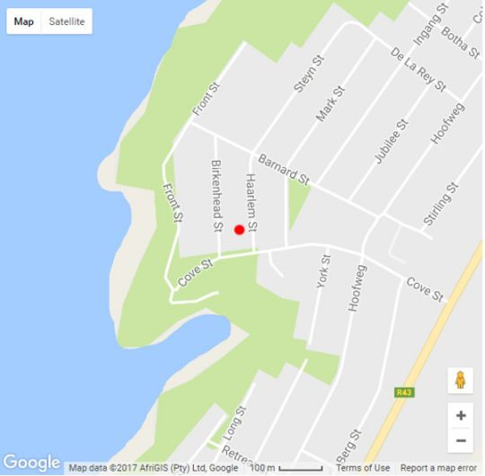 Map Marine 5 Guesthouse in Gansbaai  Overberg  Western Cape  South Africa