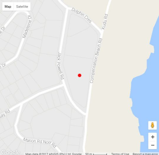 Map  7 La Pirogue in Ballito  North Coast (KZN)  KwaZulu Natal  South Africa