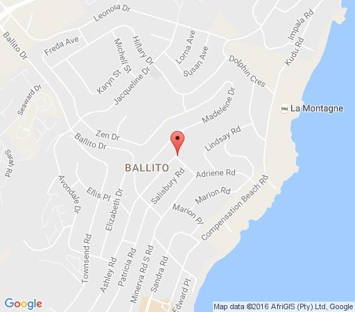 Map Billfish Apartments in Ballito  North Coast (KZN)  KwaZulu Natal  South Africa