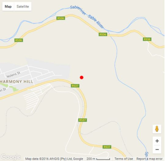 Map The Krantz Guest House & Chalets in Sabie  The Panorama  Mpumalanga  South Africa