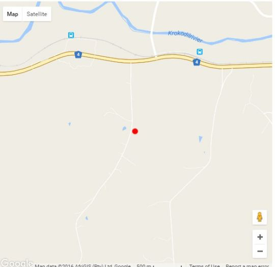 Map 104 Burnside Self Cater in Nelspruit  Lowveld  Mpumalanga  South Africa