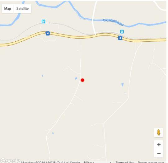 Map 104 Burnside Self Cater in Nelspruit  Lowveld  Mpumalanga  South Africa