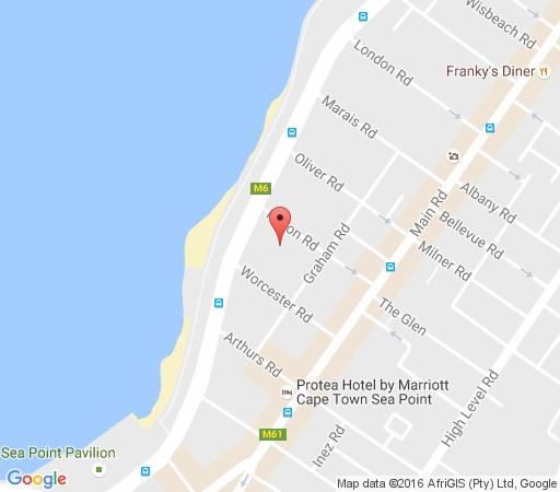 Map Atlantique in Sea Point  Atlantic Seaboard  Cape Town  Western Cape  South Africa