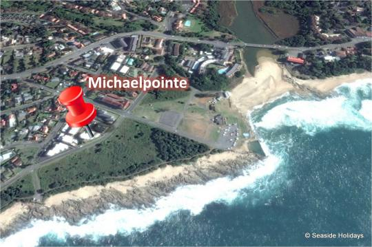Map Michaelpointe in St Michaels-on-Sea  South Coast (KZN)  KwaZulu Natal  South Africa