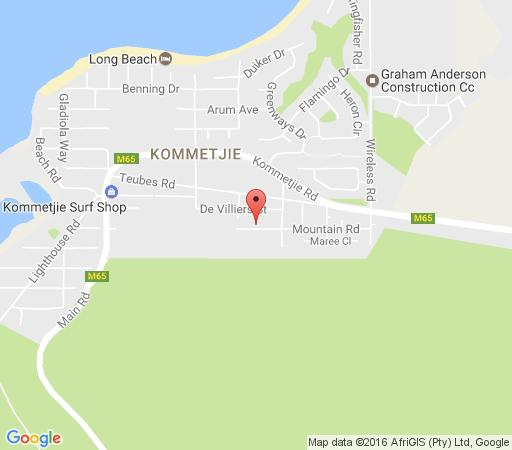 Map Otters Rest Self-Catering in Kommetjie  False Bay  Cape Town  Western Cape  South Africa