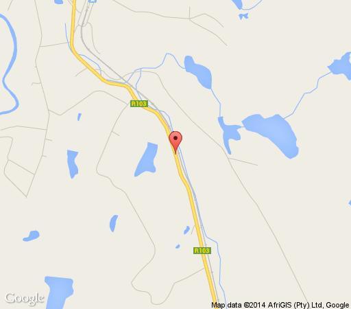 Map Shonalanga Cottages in Rosetta  Midlands  KwaZulu Natal  South Africa