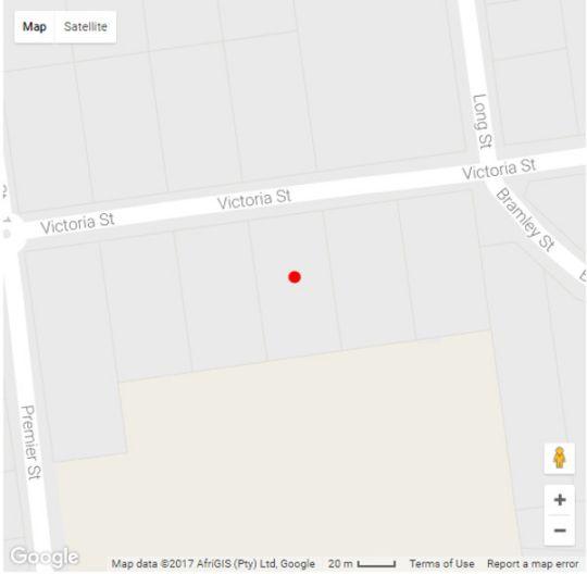 Map Capital House Boutique Hotel in Waterkloof  Pretoria East  Pretoria / Tshwane  Gauteng  South Africa