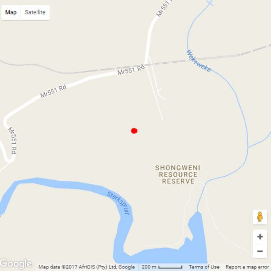 Map Ollivanders Estate in Shongweni  Western Suburbs (DBN)  Durban and Surrounds  South Africa