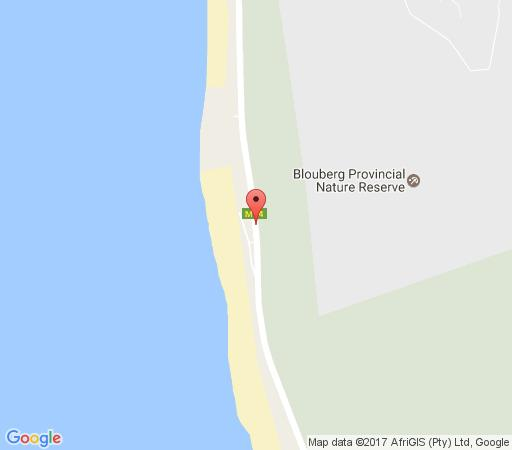 Map Seaside Village B24 in Bloubergstrand  Blaauwberg  Cape Town  Western Cape  South Africa