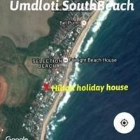 Map Hilton Holiday House in Umdloti  North Coast (KZN)  KwaZulu Natal  South Africa
