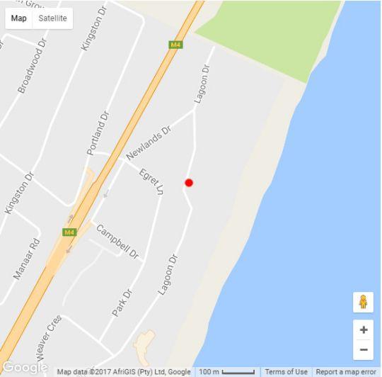 Map 1104 Bermudas in Umhlanga Rocks  Umhlanga  Northern Suburbs (DBN)  Durban and Surrounds  KwaZulu Natal  South Africa
