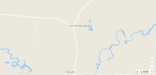 Map Francolin Creek in Heilbron  Fezile Dabi (Northern Free State)  Free State  South Africa