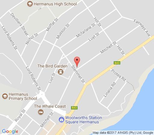 Map 6 Stemmet Lodge in Hermanus  Overberg  Western Cape  South Africa