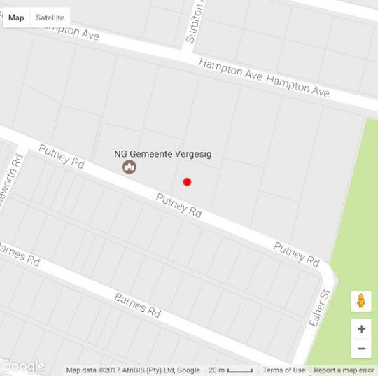 Map Grand View B&B in Auckland Park  Northcliff/Rosebank  Johannesburg  Gauteng  South Africa