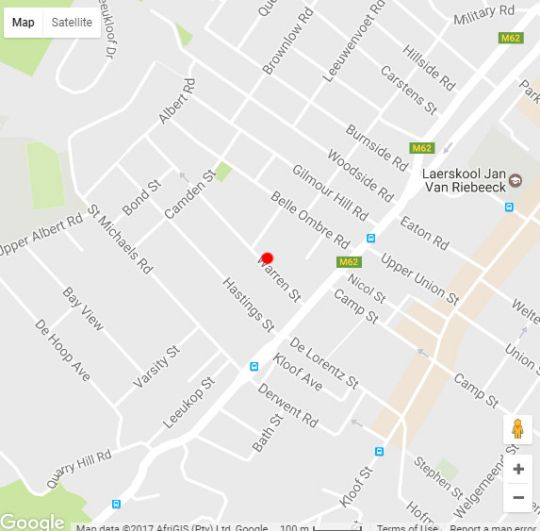 Map Warren Heights 503  in Tamboerskloof  City Bowl  Cape Town  Western Cape  South Africa