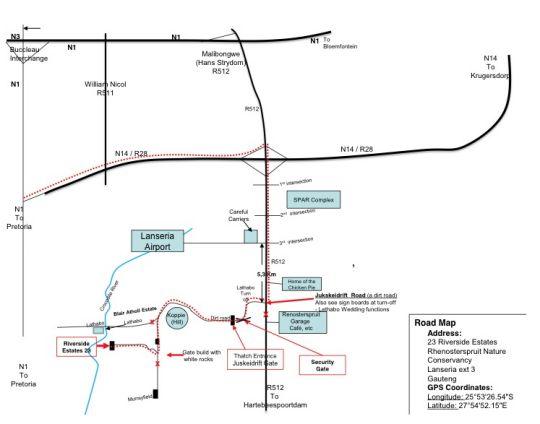 Map Twenty Three on Riverside in Lanseria  Midrand  Johannesburg  Gauteng  South Africa