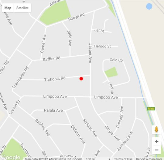 Map LightStone Guesthouse in Lyttelton  Centurion  Pretoria / Tshwane  Gauteng  South Africa