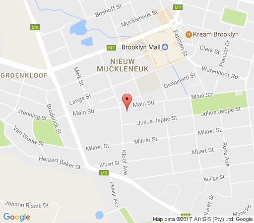 Map Vintage on Main in Waterkloof  Pretoria East  Pretoria / Tshwane  Gauteng  South Africa