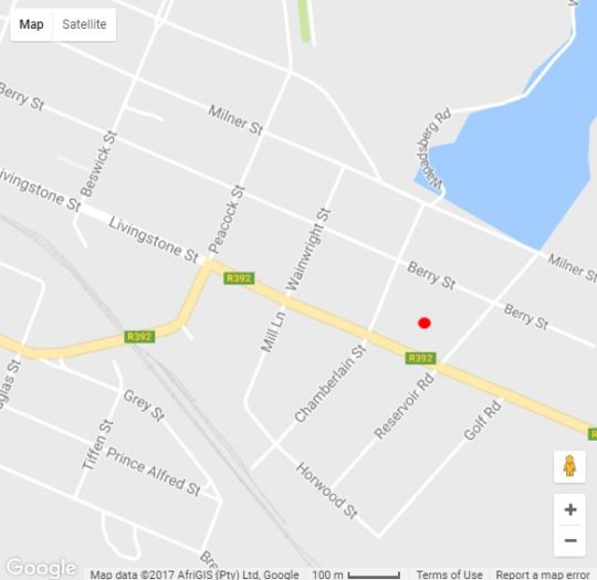 Map Silver Plum BnB in Queenstown  Stormberg District  Eastern Cape  South Africa