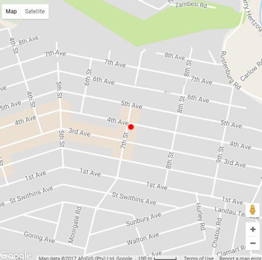 Map Sleep on 7th in Northcliff  Northcliff/Rosebank  Johannesburg  Gauteng  South Africa