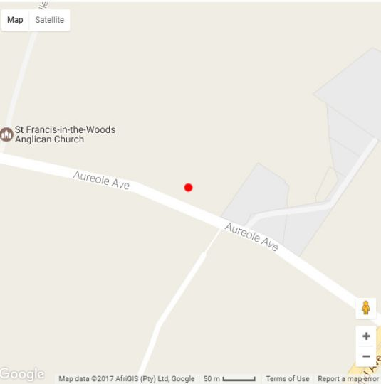Map Klip-Els Guest Lodge in Northgate  Randburg  Johannesburg  Gauteng  Afrique du Sud