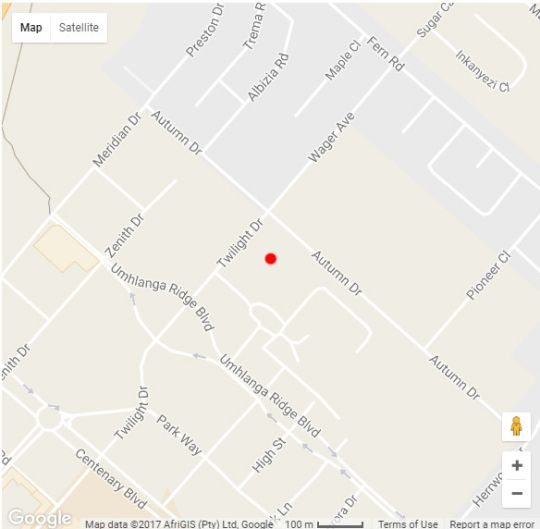 Map Savannah Park - Luxury Self Catering Apartments in Umhlanga Ridge  Umhlanga  Northern Suburbs (DBN)  Durban and Surrounds  KwaZulu Natal  South Africa