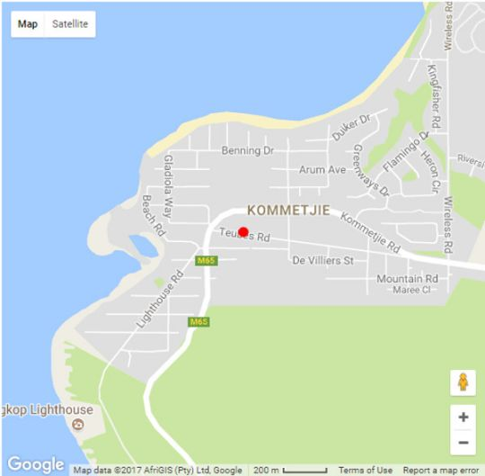 Map duck and Doolittle in Kommetjie  False Bay  Cape Town  Western Cape  South Africa