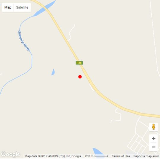 Map Jathira Guesthouse in Barberton  Lowveld  Mpumalanga  South Africa