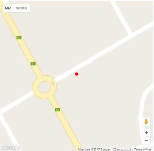 Map Out of Africa Town Lodge in Otjiwarongo  Otjozondijupa  Namibia