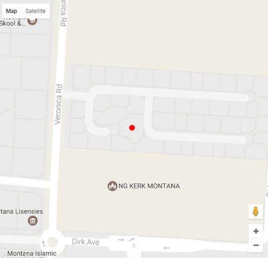 Map Like Home in Montana Park  Pretoria East  Pretoria / Tshwane  Gauteng  South Africa