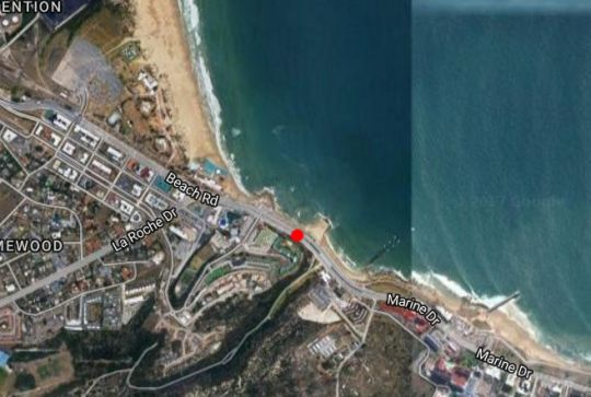 Map 125 Brookes Hill Suites  in Summerstrand  Port Elizabeth  Cacadu (Sarah Baartman)  Eastern Cape  South Africa