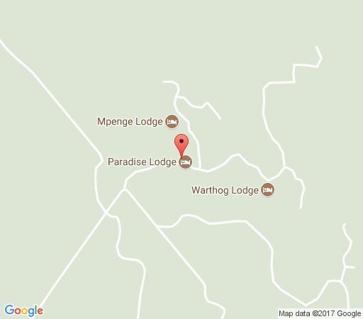 Map Paradise Lodge in Bela Bela  Bushveld  Limpopo  South Africa