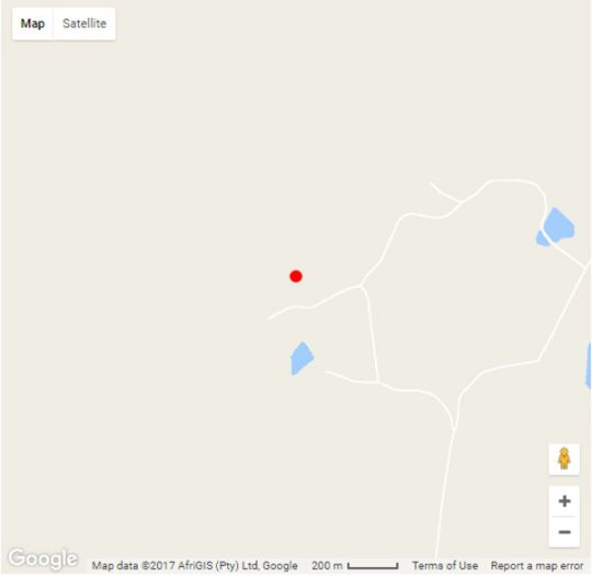 Map Westfield Farm in Balgowan  Midlands  KwaZulu Natal  South Africa