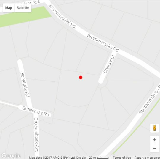 Map Little House in Constantia (CPT)  Southern Suburbs (CPT)  Cape Town  Western Cape  South Africa