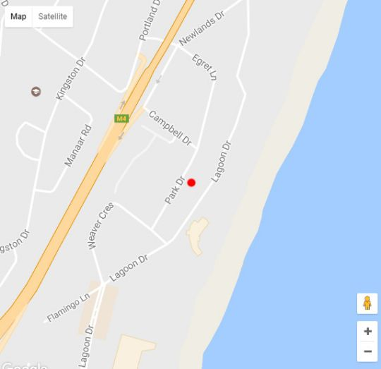 Map Sea Breeze in Umhlanga Rocks  Umhlanga  Northern Suburbs (DBN)  Durban and Surrounds  KwaZulu Natal  South Africa