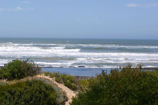 Map Beach House, Witsand in Witsand  Garden Route  Western Cape  Afrique du Sud