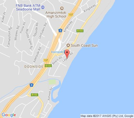 Map 5 Key Largo in Amanzimtoti  South Coast (KZN)  KwaZulu Natal  South Africa