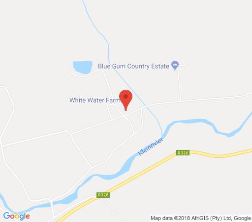 Map White Water Farm in Stanford  Overberg  Western Cape  South Africa