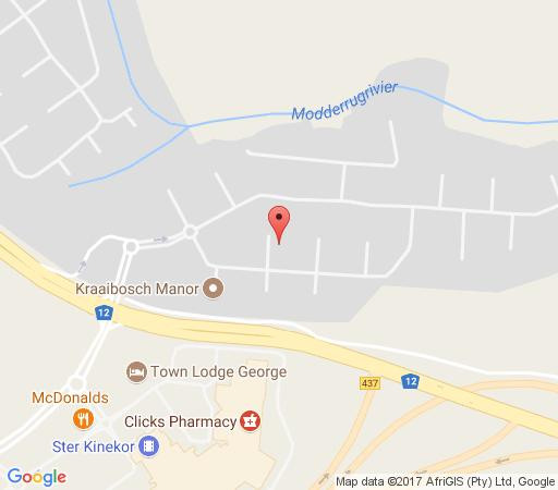 Map Limpopo Loft in George  Garden Route  Western Cape  South Africa