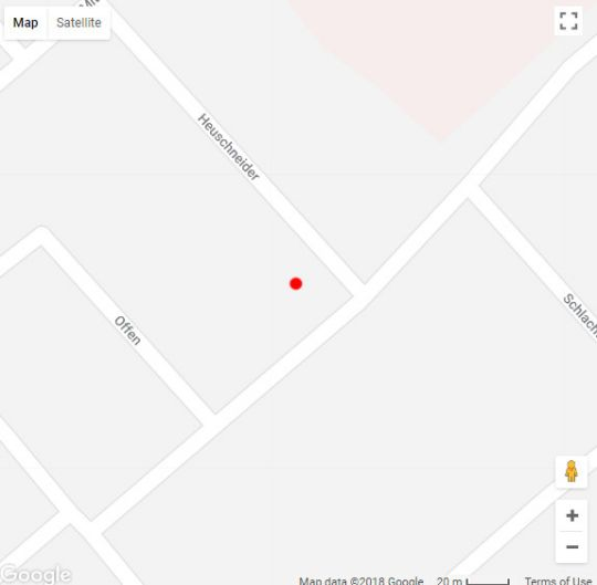 Map Heuschneider Platz Self Catering Accommodation in Swakopmund  Erongo  Namibia