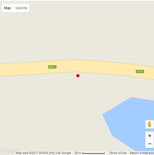 Map Nicama Lodge in Bela Bela  Bushveld  Limpopo  South Africa