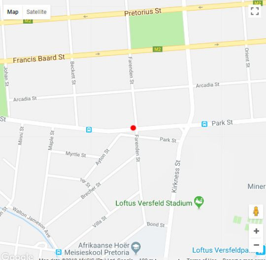 Map Chancellors Court in Arcadia  Pretoria Central  Pretoria / Tshwane  Gauteng  South Africa