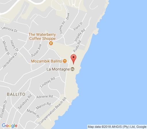 Map Bermuda 302 in Ballito  North Coast (KZN)  KwaZulu Natal  South Africa