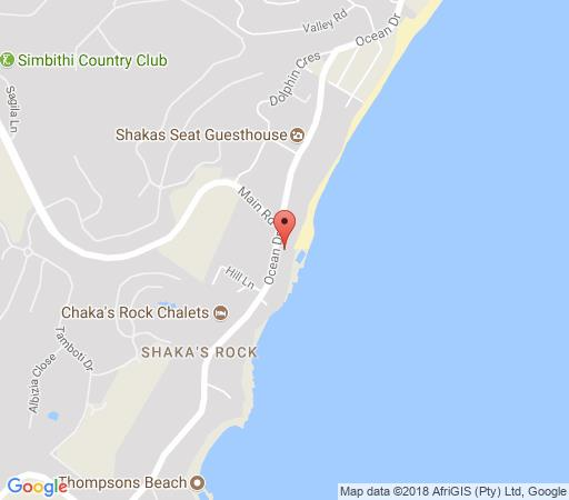 Map 30 Chakas Cove in Ballito  North Coast (KZN)  KwaZulu Natal  South Africa