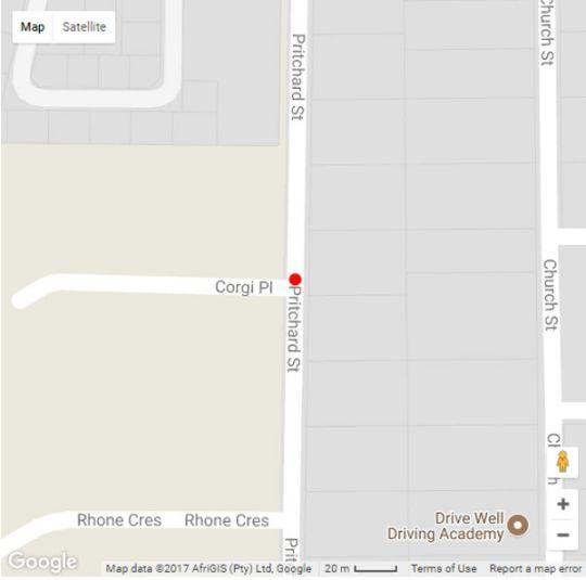 Map Corgi Guest House in North Riding  Randburg  Johannesburg  Gauteng  South Africa