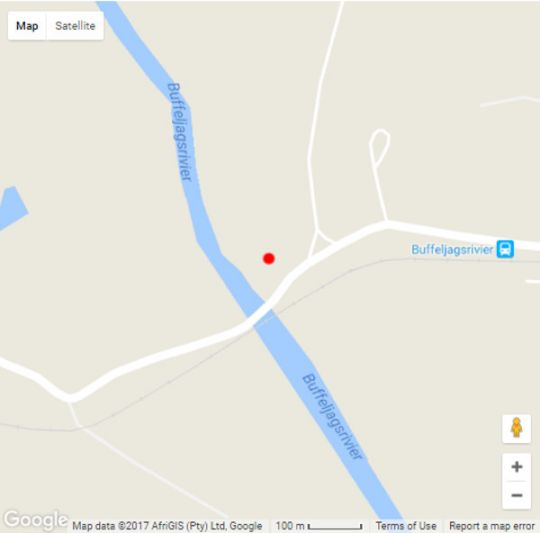 Map Chris-Elle Weddings & Self-Catering in Swellendam  Overberg  Western Cape  South Africa