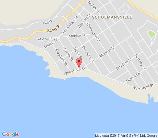 Map Waterfront Cabanas Self-Catering Apartments in Hartbeespoort  Bojanala  North West  South Africa