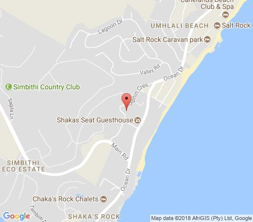 Map Bay Ridge 55 in Ballito  North Coast (KZN)  KwaZulu Natal  South Africa